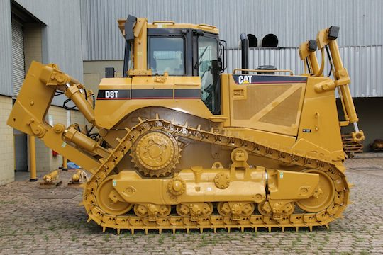 CAT Brand D8T model heavy equipment undercarriage