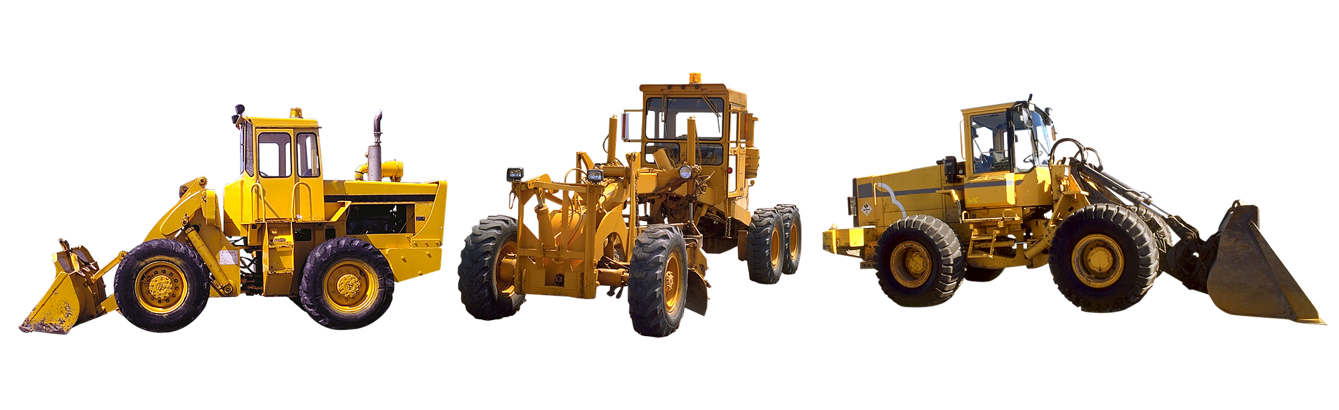 types of construction heavy equipment