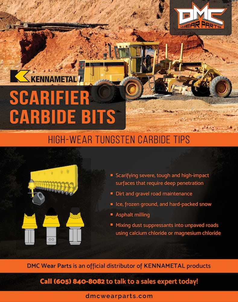KENNAMETAL Scarifier Carbide Bit Applications