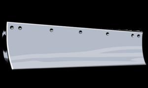 steel grader blade standard carbon curved