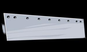 steel grader standard heat treated flat blade
