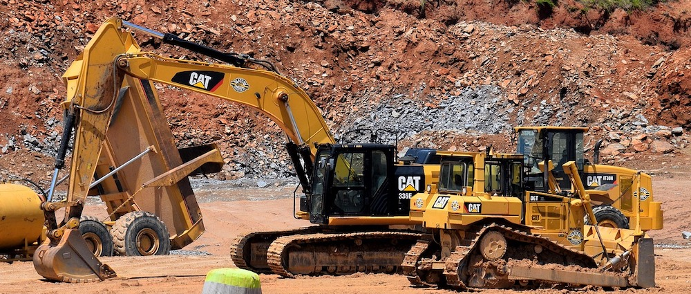 CAT Construction Equipment Models with Aftermarket Parts from DMC Wear Parts