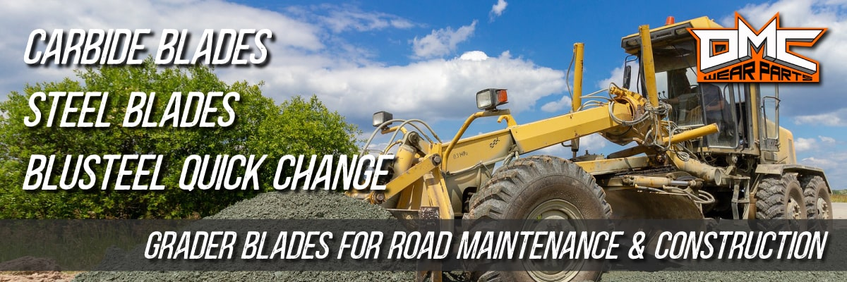 DMC Wear Parts offers Grader Blades for Road Maintenance