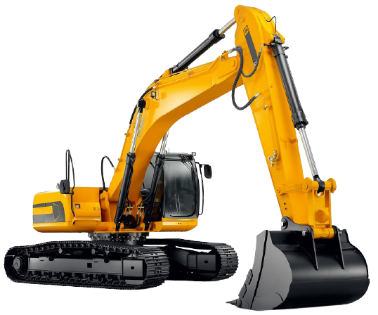 Crawler Excavator Undercarriage and Arm