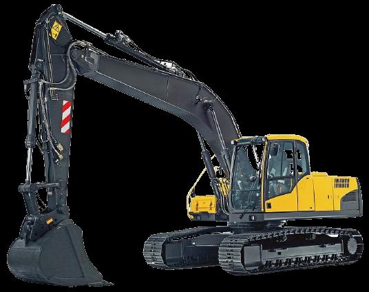 Dark arm and undercarriage for excavator (mini-excavator)