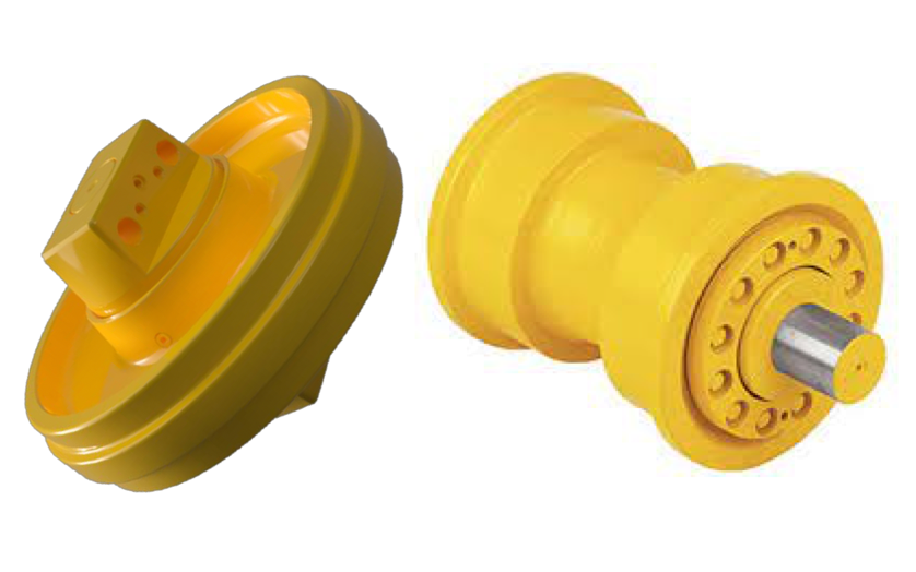 Idlers and Rollers Undercarriage Parts